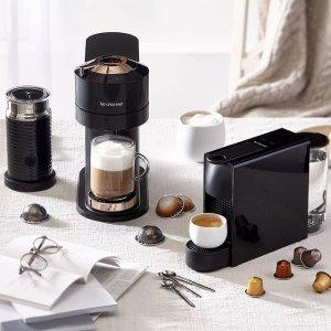 低至7折+免邮+额外送$25牛年好礼:Nespresso 胶囊咖啡机热卖 宅家享受香醇咖啡