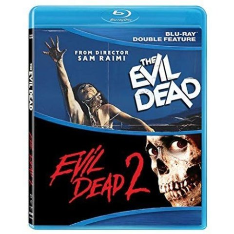 Evil Dead 1 & 2 Double Feature Blu-ray