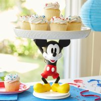 Disney 米奇托举蛋糕盘
