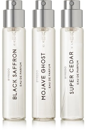 Byredo La Selection Boisee Set Eau de Parfum - Mojave Ghost, Super Cedar & Black Saffron, 3 x 12ml