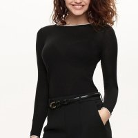 Eve's Temptation 桑蚕羊绒混合 高领针织衫