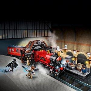 $120.23(原价$134.99)黑五闪促:LEGO 哈利波特 · 霍格沃茨特快列车