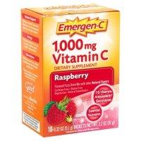 Emergen-C 1000mg 维生素C 树莓味 10包