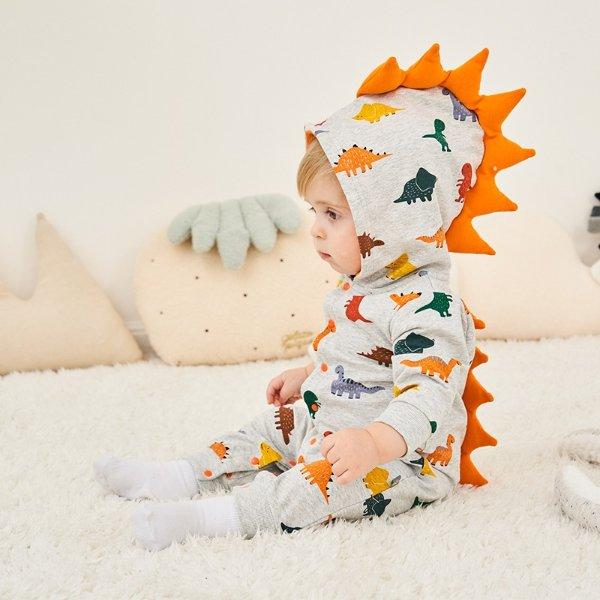 宝宝连身衣 封面小恐龙造型