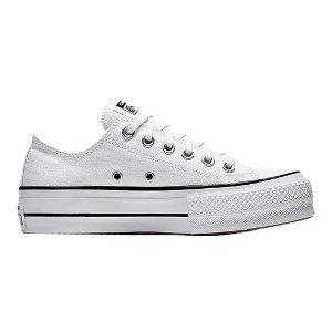 Converse 厚底帆布鞋