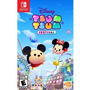 $41.94 (原价$59.99) 预售即降价《Disney TSUM TSUM 嘉年华》Switch 实体版