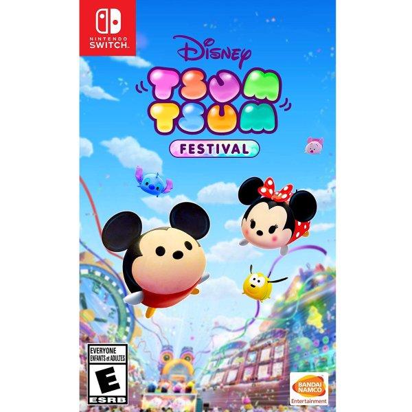 《Disney TSUM TSUM 嘉年华》Switch 数字版