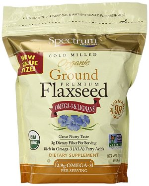 $5.13Spectrum Essentials Organic Ground Flaxseed, 24 Ounce