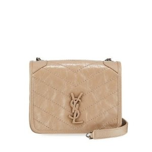 Saint Laurent$250 Gift Card RewardNiki YS Monogram Leather Wallet on Chain
