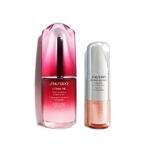 Shiseido红腰子+百优眼霜套装