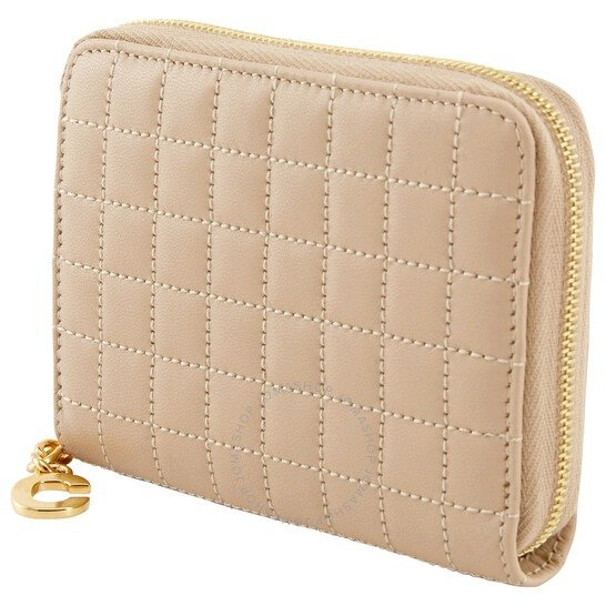 Quilted Compact 粉色钱包