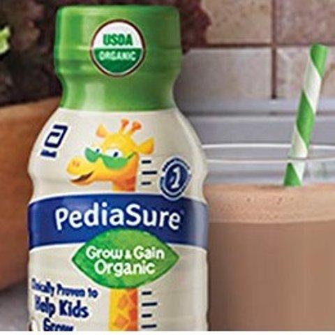 6折+额外9.5折+包邮PediaSure 有机儿童乳饮,8盎司*24瓶,2种口味,2019新款