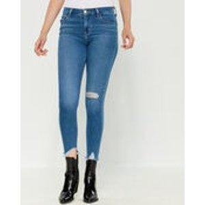 Levi's720 High-Rise Super Skinny Distressed Jeans
