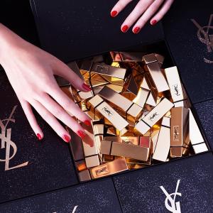 每满$150立减$25+送正装金管口红Bloomingdales YSL 美妆产品热卖 收唇釉