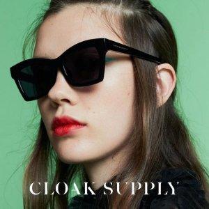最高直减$100 断货快 手慢无独家:Cloak Supply 时尚墨镜全场热卖 收王子文、吴亦凡爱牌