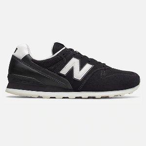 New Balance996 黑白拼色运动鞋