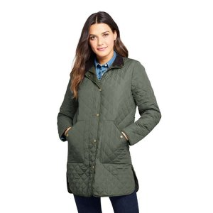 Lands' EndWomen's Insulated Quilted Barn Coat