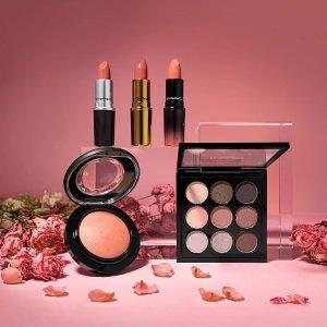 满$50送正装子弹头口红MAC Cosmetics 全场美妆热卖 收尤雾唇釉、生姜高光
