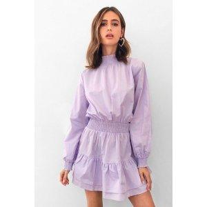 Nasty Gal香芋紫连衣裙