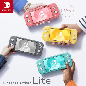 折后€184! 收湖水绿色黑五来啦:Nintendo Switch Lite 掌机 小小巧巧 女生友好
