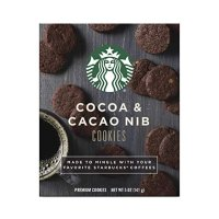 Starbucks 搭配咖啡小饼干 巧克力口味 4盒装