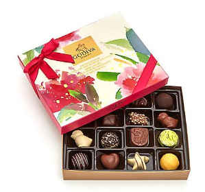 $24.5Godiva Assorted Chocolate Spring Gift Box, 16 pc.