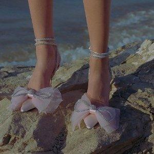8.5折 £762收封面仙女鞋Mach & Mach 小众仙女美鞋 ins超火 欧美博主新宠品牌