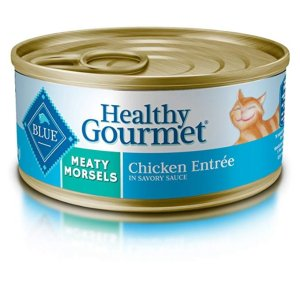 Blue Buffalo Healthy Gourmet Natural Adult Meaty Morsels Wet Cat Food