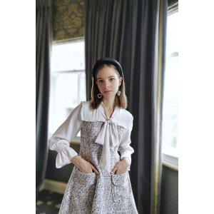 MissLondoner方领连衣裙