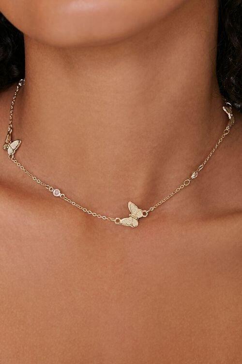 蝴蝶锁骨链