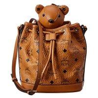 MCM 泰迪熊水桶包