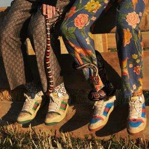 独家85折 Gucci小脏鞋£522LN-CC大牌新品特卖 Ysl钱包、Off-White新鞋£352