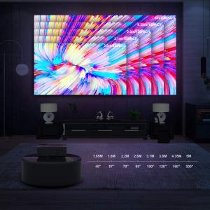 闪购:YABER 1080P原生LED投影仪 全高清支持4K