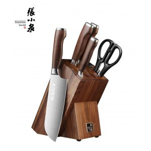 Zhang Xiao Quan淳木系列刀具 刀刃锋利 耐磨硬朗 六件套
