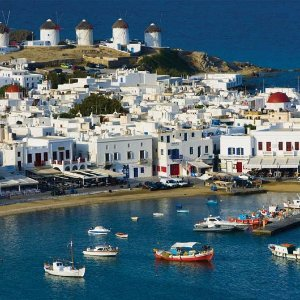 From 9498 Day Athens & Mykonos Island Including Flights