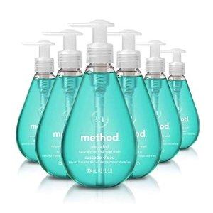 Amazon Method Gel Hand Soap, Waterfall, 12 Fl. Oz (Pack of 6)