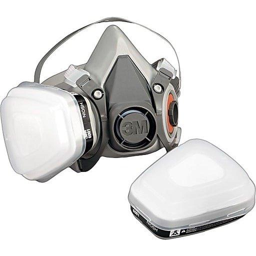 防护呼吸面罩 带过滤器 中码