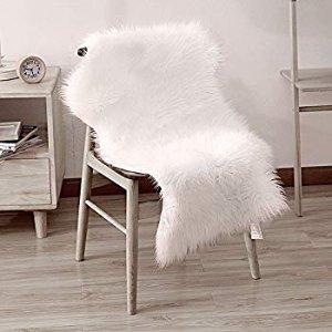 $13 Dikoaina Classic Soft Faux Sheepskin Chair Cover