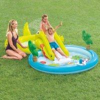 Intex 带喷水及滑梯儿童小泳池, 127