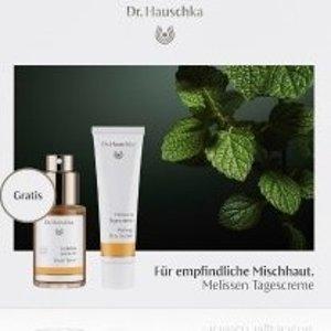变相39折 仅€14收 含正装日霜Dr. Hauschka 德国世家 护理套装 含律动喷雾30ml+日霜30ml