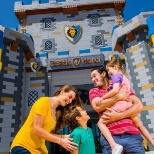 Buffet breakfast includedStay at LEGOLAND Castle Hotel in Carlsbad, CA