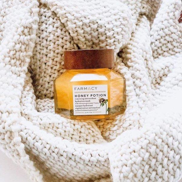 蜂蜜抗氧保湿面膜