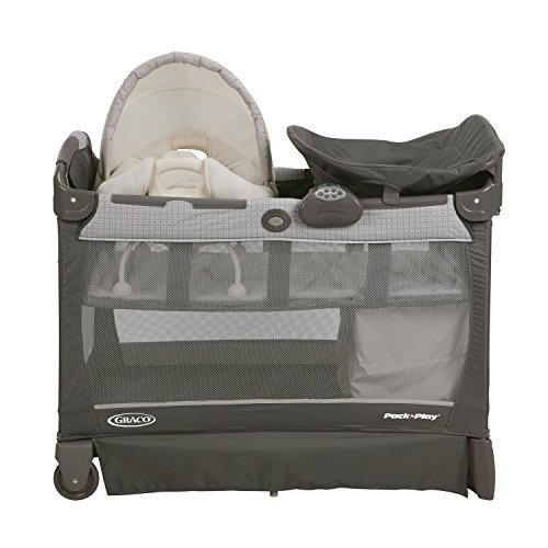 Pack 'N Play 游戏床带尿布台和摇篮