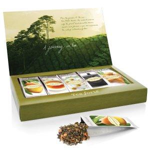 $9.18闪购:Tea Forté  5口味有机花草茶礼盒装 15包