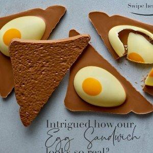 满£30享8.5折Hotel Chocolat 复活节全场大促 收各种甜蜜口味巧克力蛋壳