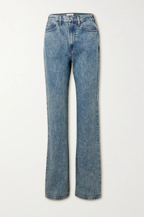 Le Jane 直筒牛仔裤
