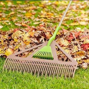 树叶纸袋$0.5/个 树叶耙$12起Home Depot 秋季花园护理必备单品 内附秋季护理注意事项