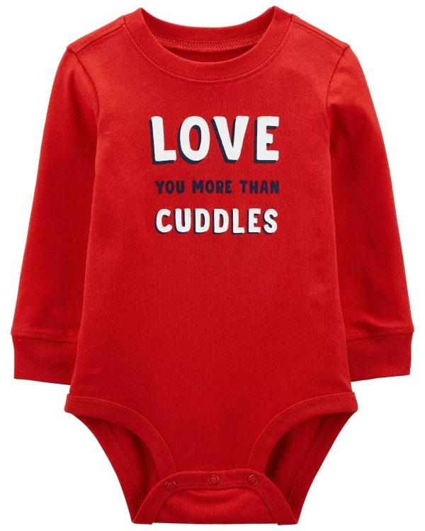 婴儿情人节包臀衫