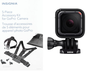 $269.99(原价$436.99)GoPro HERO5 Session 4K 高清运动相机套装