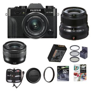 Fujifilm X-T30 + XC15-45mm & XF23mm F/2R